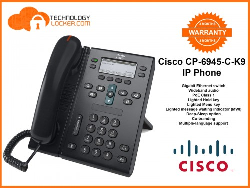 Cisco 6945 IP Phone 64Bit