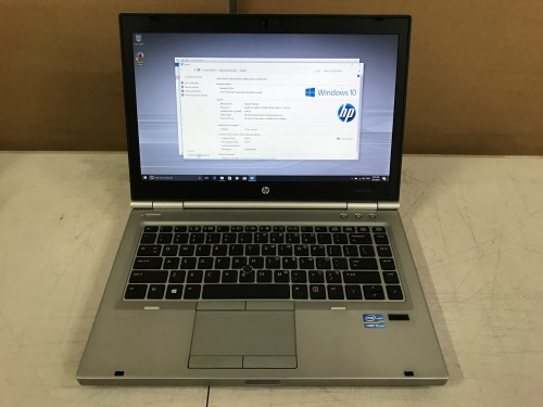 Details about HP EliteBook 8470p Laptop Intel Core i5-3360M @2 80GHz 4GB  MEM 320GB HDD Wins 10